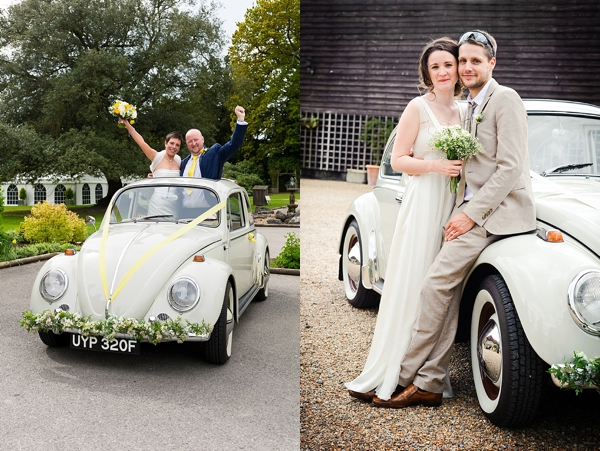 Kent wedding beetle VW