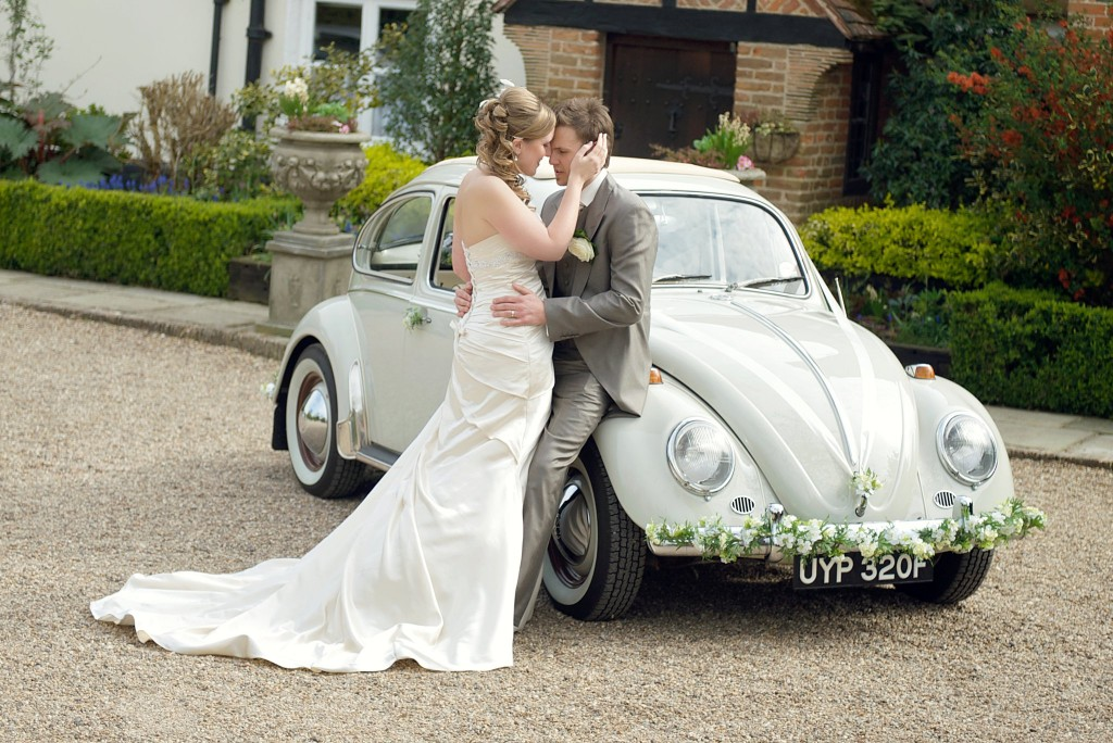 beetle wedding car